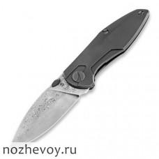 Складной нож Cheburkov Tukan Damascus Titanium